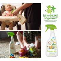 Babyganics Toy & Highchair Cleaner 502ml - Fragrance Free