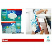 Huggies Baby Wipes Clutch n Go Blue Bubbles