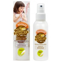 Bite Fighters Organic Mosquito Repellent Spray 125 ml