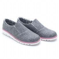 Dr.Kevin Ladies Slip-On Shoes 43210 Grey
