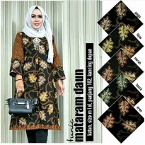 Dress Batik Tunik Mataram Daun