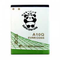 Battery Baterai Batre Cross Evercross A10Q Double Power Rakkipanda