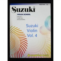 Suzuki Violin School, Volume 4 (Revised) biola