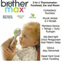Brother Max One Touch 3-In-1 Thermometer