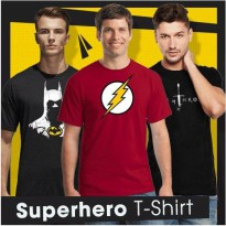 Fantasia T-Shirt Pria My Heroes - Multicolor