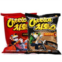 Clearance Sale Discount Lotte Cheetos 1 box (178gx12 bar) Snacks Spicy BBQ someday eat malteya