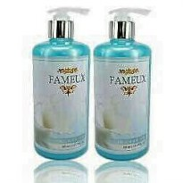 Fameux Shower Gel Blue 500 ML (2PCS) HEMAT