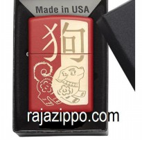 Zippo Original USA 29522 Year Of The Dog Laser Engrave - Stok Lengkap & Resmi