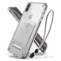 Rearth iPhone XS Max Case Ringke Fusion KIT - Clear
