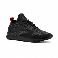 Sepatu Olahraga Lari Gym Fitness Reebok Zoku Runner SC Classics Men's Shoes - Black BS9684