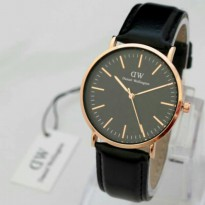 JAM TANGAN DW DANIEL WELLINGTON LEATHER KW PREMIUM