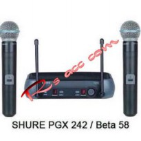 Microphone Mic wireless shure PGX 242 professional