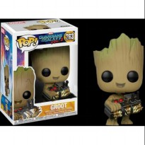 Funko Pop Original - Guardians of the galaxy vol 2- Baby Groot with Bomb