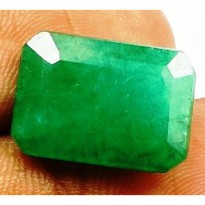Gorgeous Natural 6.40 CT Emerald Rare Quality Colombian GIE Memo