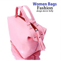 FASHION WOMEN BAGS | DOCTOR MODEL BAGS | PU LEATHER NON LABELS |TAS SELEMPANG