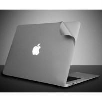 MURAH STICKER DECAL MACBOOK PRO TOUCH BAR OR NON NEW 13 15 2016 2017 GREY