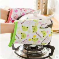 [globalbuy] 5039A creative cartoon animal microwave oven mitts lovely kitchen gloves/2961573