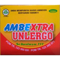 [Ambextra Unlergo] Herbal Ambeien Dan Wasir