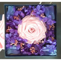 Bloom Box Big Pink Rose Beauty Preserved Flower Best For Gift
