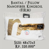 Bantal Nanofiber Kingkoil / KING KOIL (FIRM)
