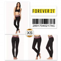 Forever 21 Workout Leggings 28917040217AC SIZE XS