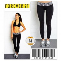 Forever 21 Workout Leggings - 00717040516AE - SIZE M