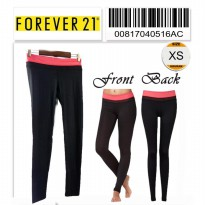 Forever 21 Workout Leggings - 00817040516AC - SIZE XS