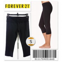 Forever 21 Workout Capris - 01117040516AD - SIZE S
