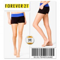 Forever 21 Workout Shorts - 01317040516AE - SIZE M