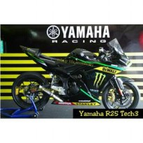Livery Decal Sticker Full Body Yamaha R25 Tech3 R25