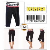 Forever 21 Workout Capris - 01217040516AE - SIZE M