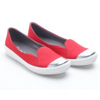 Dr. Kevin Flats Shoes Canvas 43185 Red