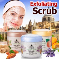 [CYCLAX Europe] Nature Pure Exfoliating Face and Body Scrub/ cocoa butter 300g / lavender 300/