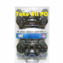 E-Smile Stik / Stick / Joystick Double e-Smile PC Dual Shock Joypad USB 2.0 - Black