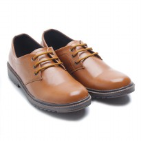 Dr. Kevin Men Cassual Leather Shoes 13299 - 2 Colors [ Tan,Maroon ]