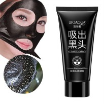 [1+1] BIOAQUA PEEL OFF CHARCOAL MASK BLACKHEAD REMOVER ACTIVED CARBON ACTIVATED NO KOMEDO/ SKC01480