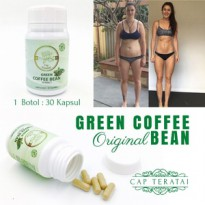 Obat diet Cap teratai green coffee bean slimming capsule