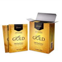 [10 Pcs + Box] HANASUI ANTI AGING GOLD MASK PEEL OFF , BPOM NA 18170200237