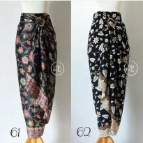 Cj collection Rok lilit batik panjang wanita jumbo long skirt Prasiya
