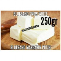 Blueband snow white (margarin putih) 250gr
