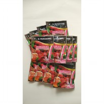 XL Professionnel Hair Mask Smoothie ( 12 Pcs ) STRAWBERRY & RASPBERRY 25g 100% ORIGINAL