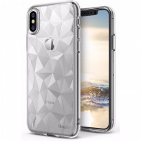 Rearth iphone X Case Ringke Air Prism Thin TPU - Clear