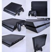 PS4 CARBON FIBER STICKER