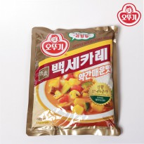 Clearance Sale Discount hundred years Ottogi Curry (a bit spicy) 1KG garuhyeong Ottogi large turmeric curry curry curry curry beef curry rice bags