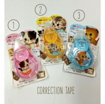 Correction Tape Fancy Cute Kitten / Tip-Ex Motif Anak Kucing