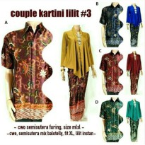 Baju Batik Couple Kartini Lilit #3