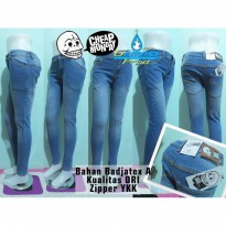 Celana Jeans Cheap Monday Skinny Bio Bleach Soft Jeans Zipper YKK | GMMP125