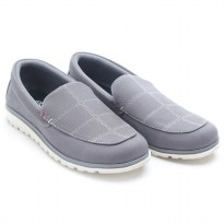 Dr.Kevin Men Slip On Shoes 13294 Grey