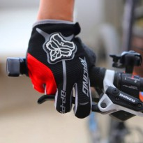 [globalbuy] Mens Full Finger Cycling Gloves Gel Pad Guantes Ciclismo Road Mountain Bike MT/4323794