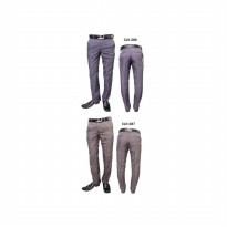 Men's Office Pants (Brown/Blue Gray)